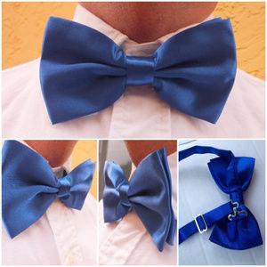 Other - 🆕 Blue Adjustable Bow Tie